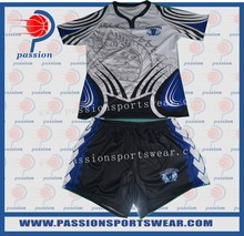 OEM service mens cheap sublimation custom team set rugby jersey, rugby uniforms for team