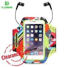 Buy FLOVEME Universal Sport Armband Case iPhone X 6s 7 8 Plus Running Gym Accessories Arm Band iPhone 6 7 8 Phone Pouch Bag for $4.99 in AliExpress store