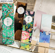 MO.CARD china nature style paper Card Bookmark memo card 1 lot = 1 pack = 30 pcs
