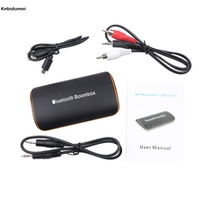 2017 New Hot Universal B2 Wireless Car Bluetooth Receiver 3.5MM AUX Audio Stereo BT 4.1 Bluetooth Audio Music Receiver(China)