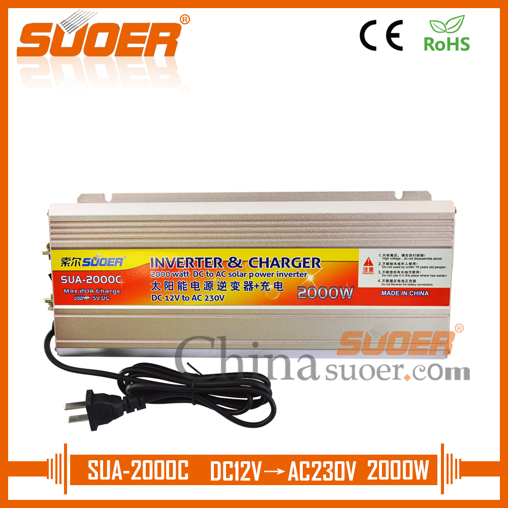 Suoer Supply Solar Inverter Price 12v 220v 500w Power 2 In 1 Charger 500 Watt Typer Saa C Modified Sine Wave 12 Volt 220 2000 Dc Ac With
