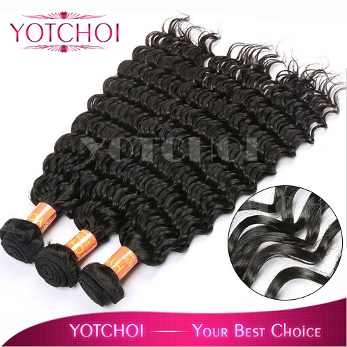 Yotchoi virgin hair products brazilian deep wave virgin hair mixed length 3pcs/lot Grade 7A unprocessed virgin brazilian hair<br><br>Aliexpress