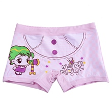 Cartoon Kids Girls Underwear Cute Girl Print Children's Boxer Kid Pants Underpants Brief(China)
