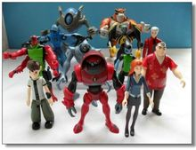 Cartoon Ben 10 PVC Action Figure Set Toy Wholesale (12 pcs/set ) Ben10 Classic Doll Toys