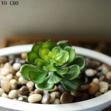 Artificial succulents Land Lotus Plants Grass Desert Artificial Plant Landscape Fake Flower Arrangement Garden Decor Home Office