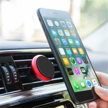 Car Vehicle Air Vent Dashboard Phone Stand Holder for iPhone Samsung Huawei Portable Universal Magnetic Car Mount Phone Holder(China)