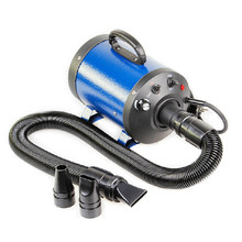 Ru Shipping Portble 2400w Dog Pet Dryer Blower 220v For Dogs Cats Dog Hair Dryer With 3 Nozzles