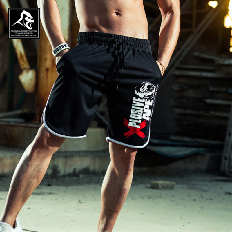 2018 New Skull Camouflage Loose Cargo Shorts Men Cool Summer Military Camo Short Pants Hot Sale Homme Cargo Shorts No belt title=