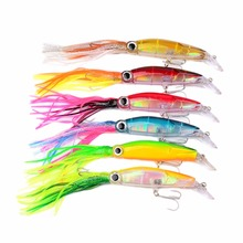 Soft Lures Octopus Squid Jig Hooks Shrimp Catch Fishing Tackle Crank fishing lure 1PCS Hot Sale(China)