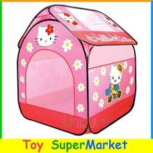 Kids Tent Cartoon Hello Kitty Play House Game Tent Lawn Outdoor Sport Children Ocean Ball Pool Infant Toy Best Gift for Girl