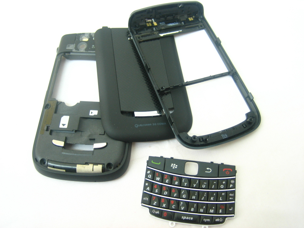 Replacement Cover Housing for BlackBerry Bold 9650 Black(Hong Kong)