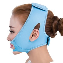 Thin Face Mask Slimming Bandage Double Chin Face Belt health care weight loss products massage Lift Reduce belt(China)
