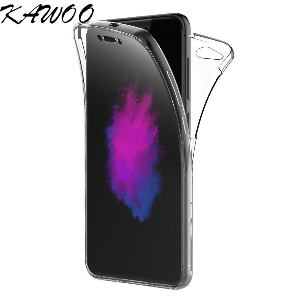 360 Degree Transparent Silicone Case For Xiaomi Mi A1 Redmi 5 Plus 4X 5A Capa Full body Front And Back Coque For Redmi Note 5A Lo