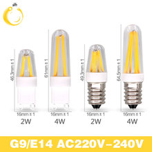 Best quality guarantee 2years G4 LED Bulb G9 LED Bulb E14 G9 Filament Light AC220V g9 e14 corn Bulb Lamp 1.5W 2W 4W Light Lamp(China)