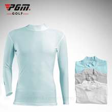 Golf authentic Ice outdoor sunscreen clothing golf shirts quick dry mens golf apparel tight summer T-shirt ropa de golf mujeres(China)