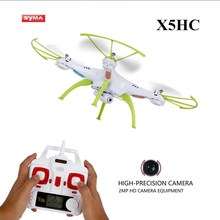 Buy SYMA Drone Camera HD X5HC (X5C Upgrade) 2.4G 4CH RC Helicopter Quadcopter, Dron Quadrocopter Toy VS Syma X5C X8W X8HC X8HW for $49.90 in AliExpress store
