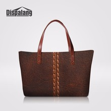 Dispalang Stylish Shoulder Hand Bag Ladies Large Tote Bag Leather Prints Women Handbags For Working Beach Bag Female Nice Bag