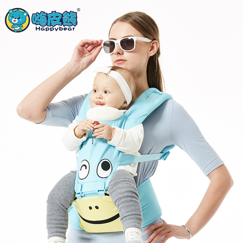 HappyBear 0-36 Months Newborn ergonomic baby carrier  6 in 1 hipseat 360 mochila portabebe baby sling backpack Kangaro baby bag<br>