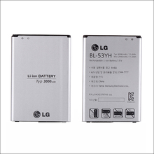 Original Replacement for LG G3 BL-53YH Optimus D850 D851 D852 D855 LS990 VS985 F400 D830 F400 Battery(China)
