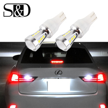 1000Lm T15 T10 Canbus OBC Error Free Bulbs LED Reverse Light License Plate Light 921 912 W16W Car lamp External Auto Xenon White