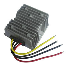Waterproof DC12V To DC12V 10A 120W Auto Step Up/Down Power Supply Converter Module