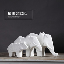 T Creative Elephant TV Cabinet Home Figurines Furnishing Living Room Decoration Handcrafts Small Middle Large Style Ornaments
