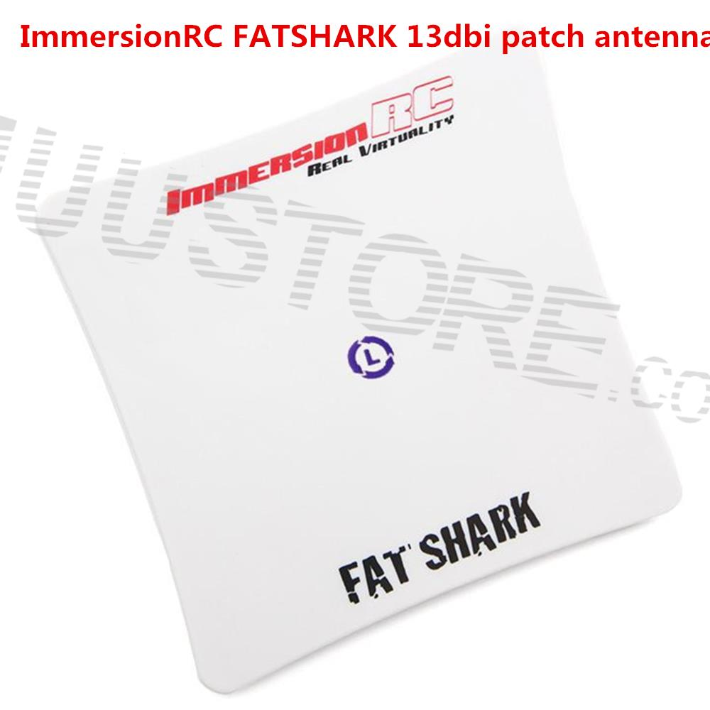 Hot Sale Immersion Fatshark SpiroNET CP Patch 5.8GHz 13dBi RHCP FPV Antenna SMA connector For FPV Multicopter Part<br>