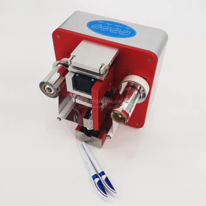 2017 new LY 66A professional cylinder foil press machine for stationery medical tube use 110V-240V 50/60HZ