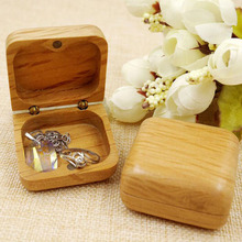 Rustic Wedding Ring Bearer Case Jewelry Necklace Bracelet Earring Display Storage Boxes Anniversary Valentines Gift Box ZA3181