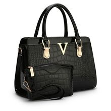 2017 new patent PU leather female bag stone high-end western style atmosphere Shoulder Handbag