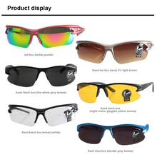 Buy UV400 Cycling Eyewear Sunglasses Safety Men Women Goggle Sunglasses Bike Bicycle Outdoor Sport Windproof Eye Movement Glasses for $1.75 in AliExpress store