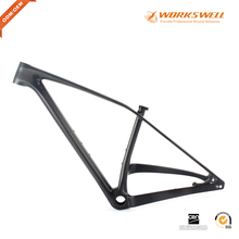 27.5erplus MTB carbon frame cycling mountain bike UD black carbon mtb frame carbon mountain bike frame for sale