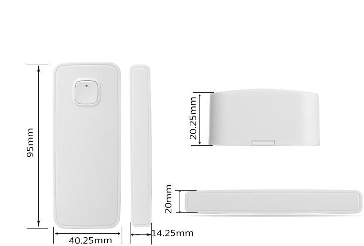Wifi Door Sensor Window Sensors Alexa Google Home IFTTT Alarm Security Smart Life APP Wireless Remote Control(5)