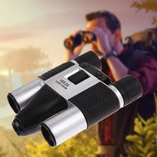 Hot Selling DT08 Cheap Gift Binocular Digital Camera Telescopic Video Camera 1.3MP Sensor AA Battery Support 32GB TF Card(China)