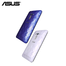 Original ASUS Zenfone selfie ZD551KL Crystal diamond-shaped back battery cover case housing replacement without NFC