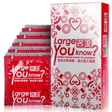 Buy 100 PCS Large Size Condom Natural Latex Smooth Lubricant Condoms Men Safety Contraception Dicks Condones Adult Sex Products