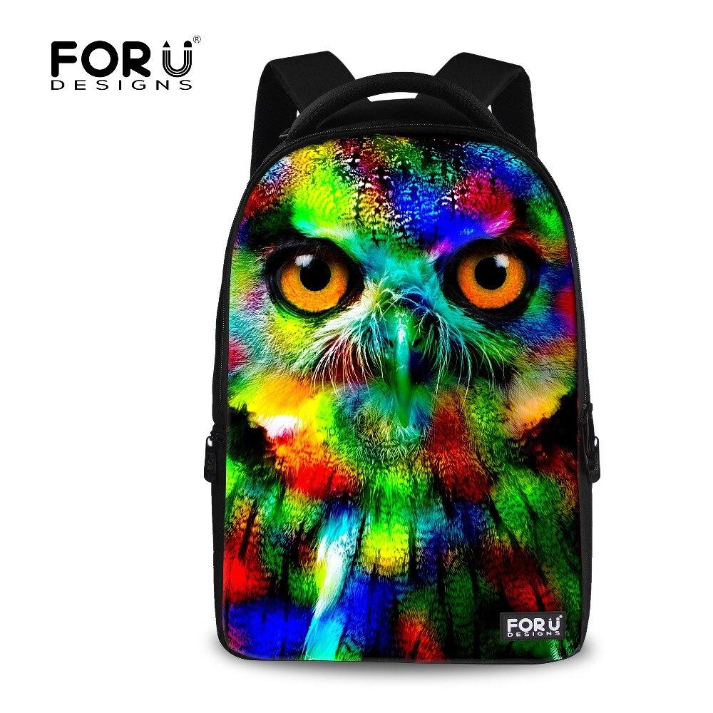 Mens Travel Backpack OWL Printing Leopard Backpacks,3D Zoo Animal Back pack for Teenager Jaguar Bag,Children School Bagpack Bag<br><br>Aliexpress