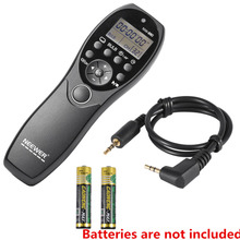Neewer LCD Display Shutter Release Wired Timer Remote Control NW-880/E3 for Canon PowerShot G10 SX50,550D 500D Digital Cameras(China)