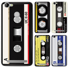 "Case For HomTom HT50 Phone Back Cover Vintage Cassette Tape Pattern Soft Silicone For HomTom HT 50 5.5"" Case Protector Fundas(China)"