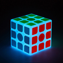 Luminous Cube Magic Games Constellation Toy Puzzle Speed Square Brinquedos Neo Cube Labirinto Educational Toys For Girls 50D0617