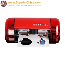Small Desktop Cutter Plotter A4 Mini CUTOK Vinyl Cutter Machine and Plotter with Contour Cut Function