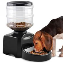 Automatic Pet Feeder Programmable Timer Food Station Dispenser Container for Dog Cat Animal with Electronic(China)