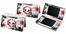 Skull 223 Vinyl Skin Sticker Protector for Nintendo DSI XL LL for NDSI XL LL skins Stickers(China)