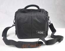 black CAMERA BAG CASE for Canon EOS 550D 60D 650D 600D 5D 6D 7D 600D Rebel T4i