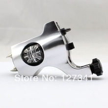 Wholesale Tattoo Supply Premium Silver PVD Aluminum Bishop Rotary Tattoo Machine Liner Shader Combined