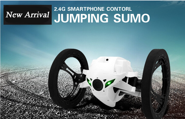 Novelty Item Special RC Jumping sumo Car 4CH 2.4G Remote Control Bounce Electric Car Music Light Quick Rotation Turn<br><br>Aliexpress