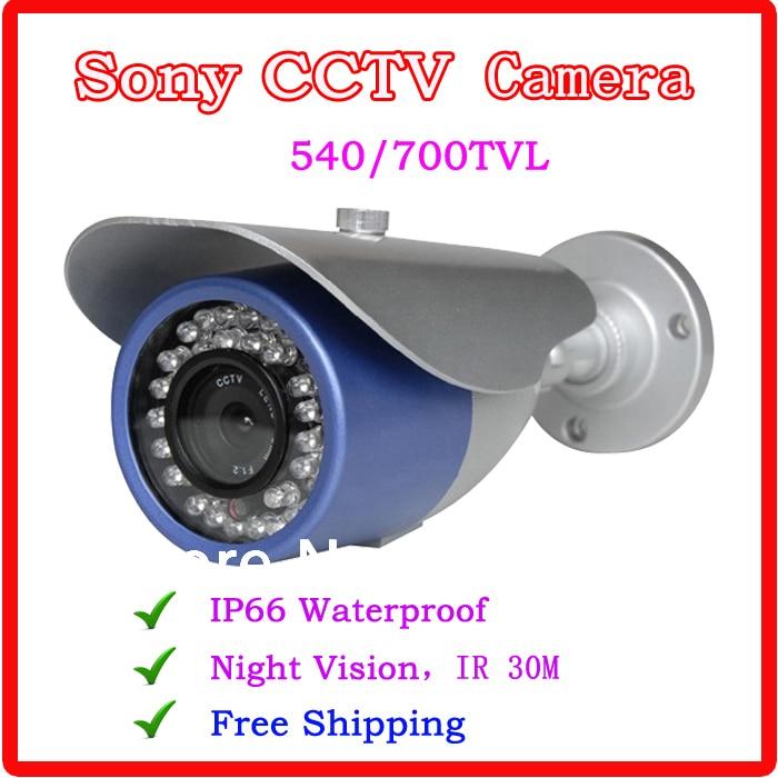 Outdoor camera 700TVL 540TVL Sony CCTV Camera Support Night Vision IR30M CCTV System<br><br>Aliexpress