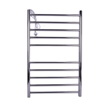 1PC YEK-8018 Heated Towel Rail,Stainless Steel Electric Towel Racks Warmer Heater,voltage110-240V,For the bathroom(China)