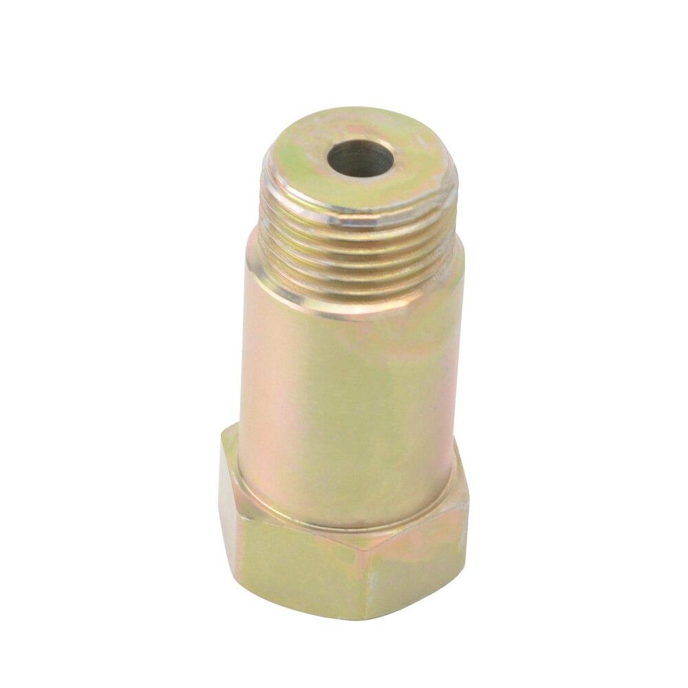 6 O2 Spacer lambda Oxygen Sensor bung extenders HHO Hydrogen Fitting M18x1.5