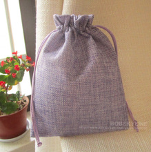 30pcs-15*20cm Linen Storage pouch Herb Lavender Sachet bag Gift Packaging bags